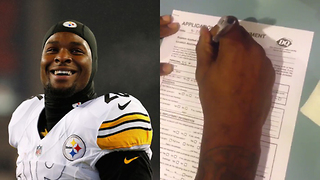 Le'Veon Bell Applies for Job at Dairy Queen After Not Receiving Long-Term Contract Extension - Video