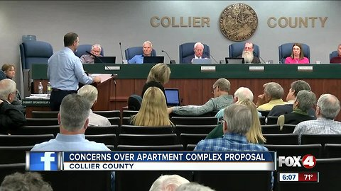 Plan for apartment complex angers neighbors in North Naples