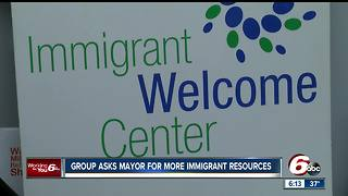 Group asks Indy Mayor fo r more immigrant resources - Video