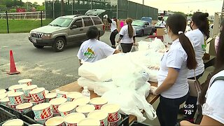 Helping immigrant families, Amigos of Baltimore County holds multiple food drives