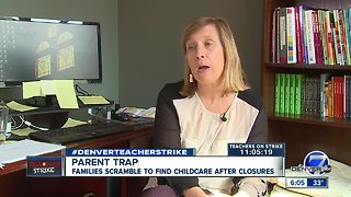 Families scramble to find childcare after closures