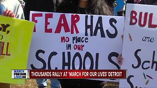'March For Our Lives' Detroit - Video