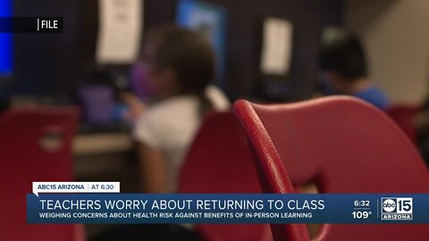 Valley teachers worry about returning to class