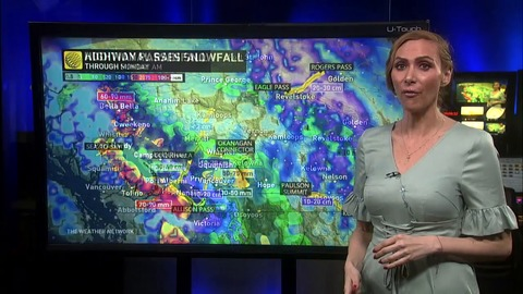 B.C.: More rounds of rain into next week