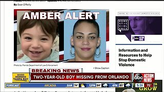 AMBER Alert issued for missing 2-year-old Orlando boy