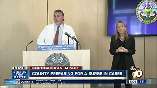 San Diego County preparing for a surge in cases