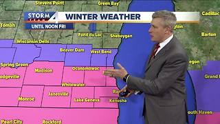 Winter Storm Warning in effect Friday - Video