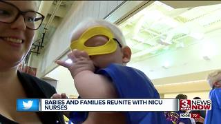 Nicu babies reunite with nurses - Video