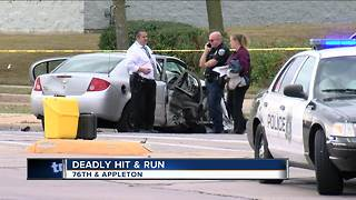 Suspect arrested in deadly Milwaukee hit-and-run crash - Video