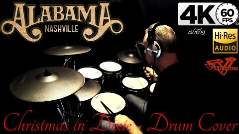 Alabama - Christmas In Dixie - Drum Cover