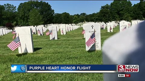 Purple Heart Honor Flight Highlights