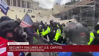 Security failures at US Capitol