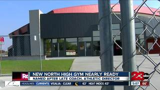 North High Gym Nearly Ready - Video
