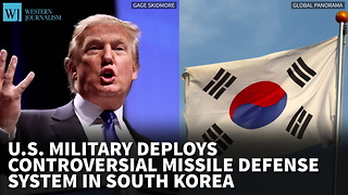 US Military Deploys Controversial Missile Defense System In South Korea - Video