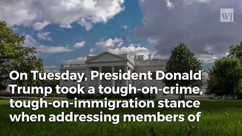 President Trump Meets with Nation's Sheriffs, Delivers Tough Message on Border Security