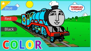 Thomas and Friends | Learning Colors and Numbers | Animated Toy Trains for Kids - Video