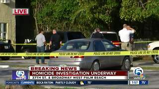 1 man found shot dead outside West Palm Beach residence - Video