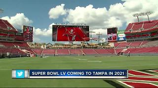 Super Bowl LV coming to Tampa in 2021 - Video