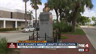 Lee County NAACP releases resolution - Video