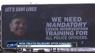 Mother puts up billboard after son killed in officer-involved shooting