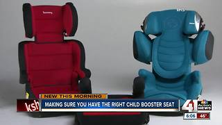 Institute releases new booster seat recommendations - Video