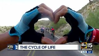 Cycling club filling up Valley roads - Video