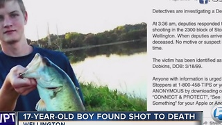 17-year-old found shot to death - Video