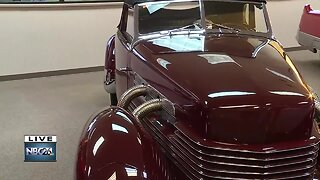 Checking out the classic cars at the Iola Car Show