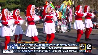 Two Maryland parades make USA Today's top 10 best list - Video