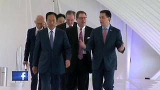 Location of Foxconn manufacturing plant to be announced - Video