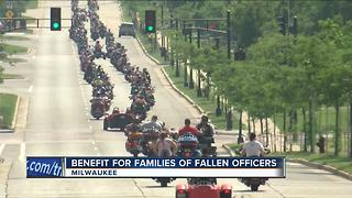 Benefit for families of fallen officers - Video