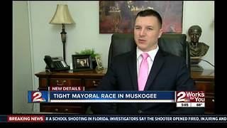 Tight mayoral race in Muskogee - Video