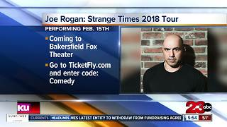Joe Rogan comes to Bakersfield, Fox Theater - Video
