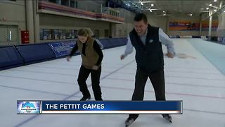 Lance Allan and Delaney Brey try their hands at Olympic events at the Pettit Center - Video