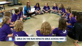 Girls on the Run Buffalo changes the lives of young girls across WNY - Video