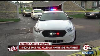 Deadly triple shooting on Indy's north side - Video