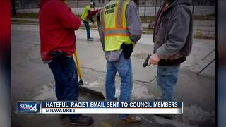 Hateful, racist emails sent to council members - Video