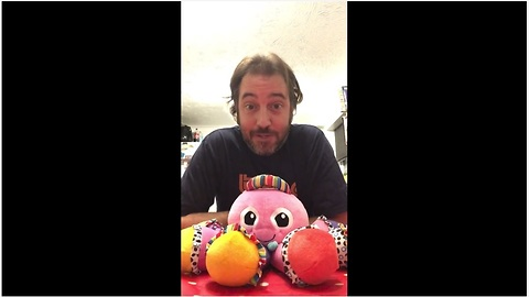 Creative Man Gives Fun Rendition Of 'Push It' On A Honking Toy Octopus