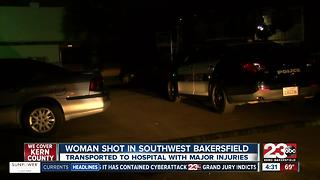 Shooting in southwest Bakersfield - Video