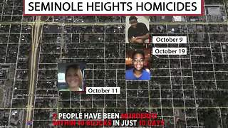 Seminole Heights Homicides: Tampa police are searching for the killer responsible for three murders