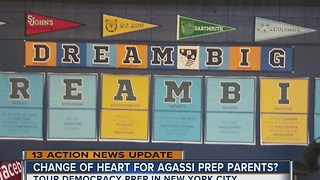 Parents concerned about possible changes to Agassi Prep - Video