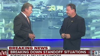 Crime and safety expert Randy Sutton talks about standoff - Video