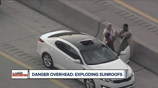Shattered sunroofs prompt auto safety experts to push for recalls - Video