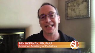 The American Academy of Pediatrics talks about accidental lithium coin battery ingestions