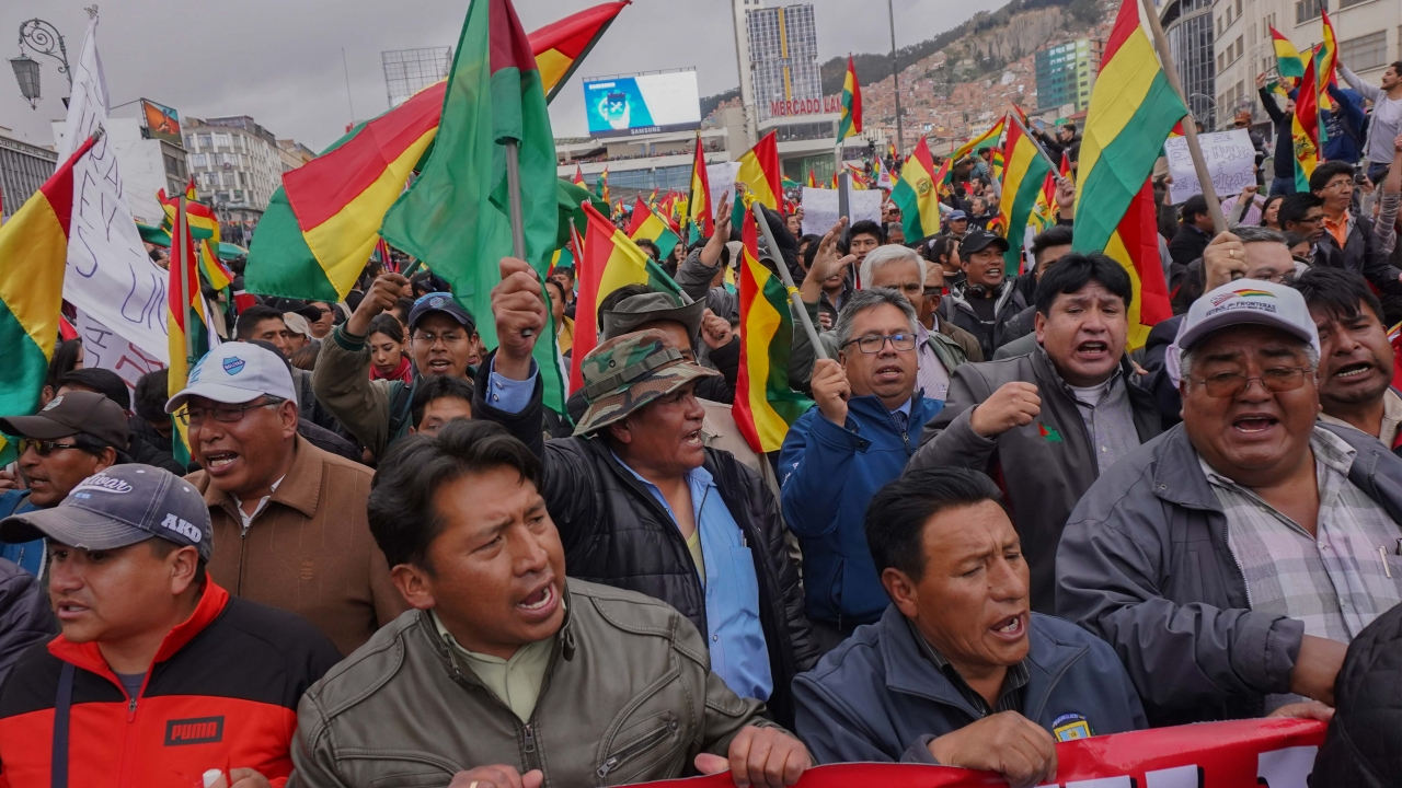 State Department Tells U.S. Citizens Not To Travel To Bolivia