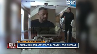 Tampa Police search for burglary suspect
