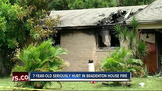 Bradenton family out of home after fire - Video