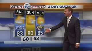 7 First Alert Forecast, 0525 11pm - Video