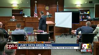 Jury deliberating in Daniel Greis murder trial - Video