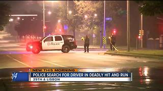 Woman killed overnight in hit-and-run crash